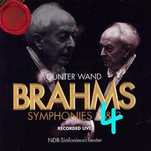 Johannes Brahms – Symphony Nr. 4 – NDR SO - Wand (1998)
