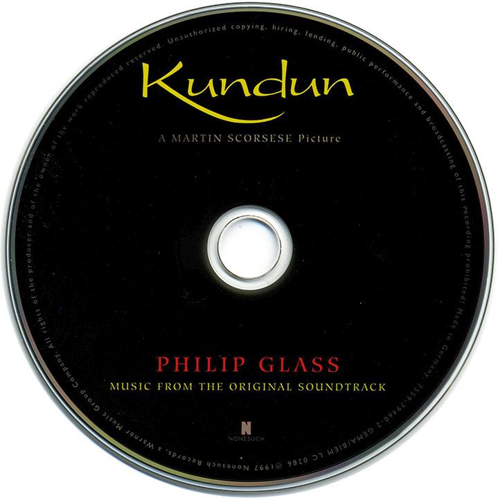 Philip Glass - Kundun: Music From The Original Soundtrack (1997)