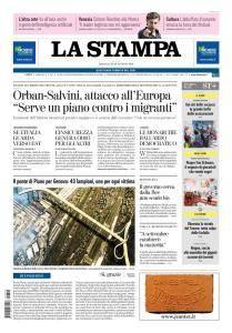 La Stampa Torino Provincia e Canavese - 29 Agosto 2018