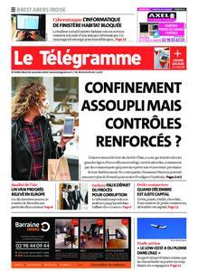 Le Télégramme Brest Abers Iroise – 24 novembre 2020