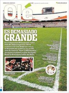 Diario Ole - 26 de Junio 2011