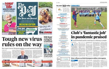 The Press and Journal Moray – September 19, 2020