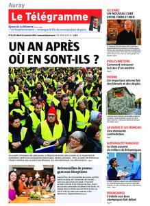 Le Télégramme Auray – 12 novembre 2019