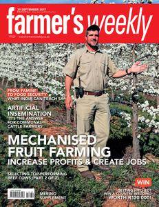 Farmer's Weekly - 29 September 2017
