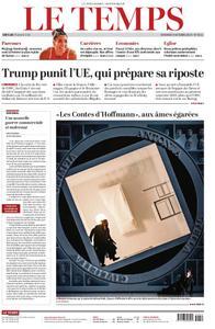 Le Temps - 04 octobre 2019