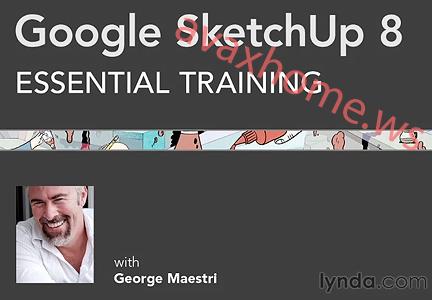 Lynda.com - Google SketchUp 8 Essential Training