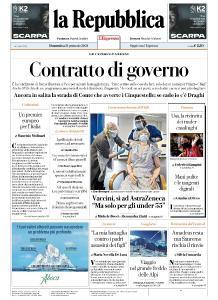 la Repubblica - 31 Gennaio 2021