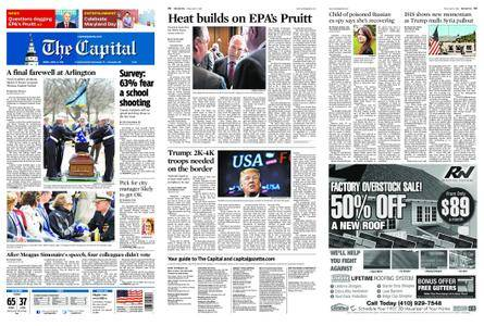 The Capital – April 06, 2018