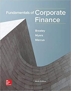 Fundamentals of Corporate Finance, 9th Edition