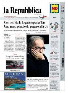 la Repubblica - 27 Luglio 2018
