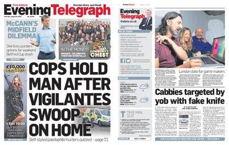 Evening Telegraph First Edition – August 16, 2018