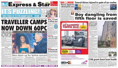 Express and Star Sandwell Edition – December 26, 2017