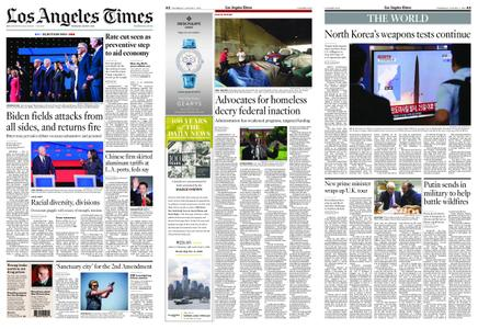 Los Angeles Times – August 01, 2019