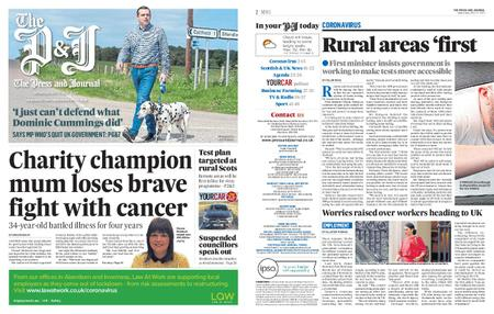 The Press and Journal Moray – May 27, 2020