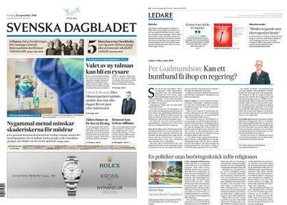 Svenska Dagbladet – 21 september 2018