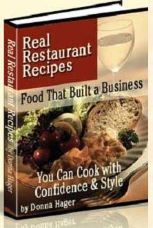 Real Restaurant Recipes Cookbook