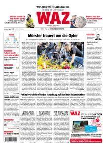 WAZ Westdeutsche Allgemeine Zeitung Oberhausen-Sterkrade - 09. April 2018