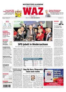 WAZ Westdeutsche Allgemeine Zeitung Oberhausen-Sterkrade - 16. Oktober 2017