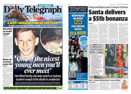 The Daily Telegraph (Sydney) – January 12, 2019