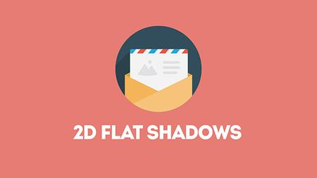 2D Long Flat Shadows in After Effects