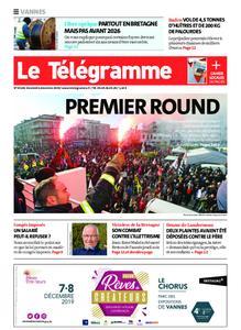 Le Télégramme Vannes – 06 décembre 2019
