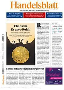 Handelsblatt - 20. August 2018