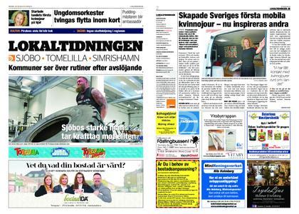 Lokaltidningen Sjöbo – 15 juni 2019