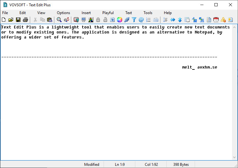 VovSoft Text Edit Plus 5.2 + Portable
