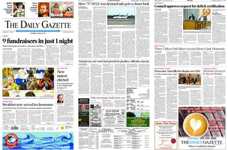 The Daily Gazette – March 20, 2019