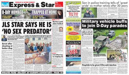 Express and Star Dudley and Wyre Forest Edition – May 21, 2019