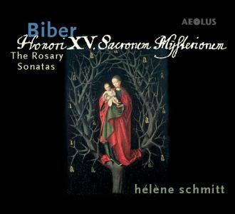 Biber - Helene Schmitt - Honori XV Sacronem Mysterionem. The Rosary Sonatas (2016) {2CD Aeolus Official Digital Downloads}