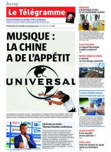 Le Télégramme Auray – 07 août 2019