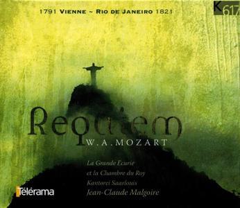 Jean-Claude Malgoire, La Grande Ecurie et la Chambre du Roy, Kantorei Saarlouis - Mozart: Requiem (2005)