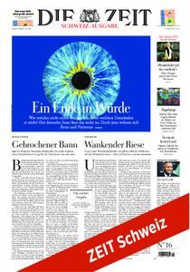 Die Zeit Schweiz - 11. April 2019