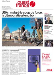 Ouest-France Édition France – 08 janvier 2021