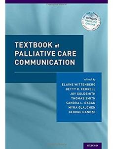 Textbook of Palliative Care Communication [Repost]