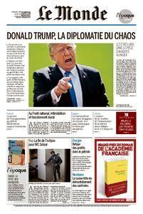 Le Monde du Dimanche 5 et Lundi 6 Novembre 2017