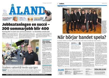 Ålandstidningen – 02 juni 2020