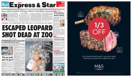 Express and Star City Edition – December 01, 2018