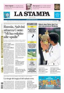 La Stampa - 15 Luglio 2019
