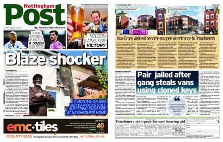 Nottingham Post – August 09, 2019