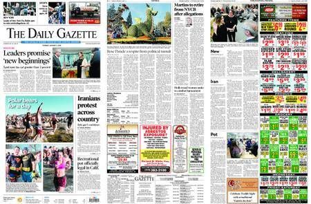 The Daily Gazette – January 02, 2018