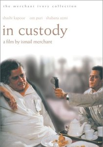 In Custody (1994) [The Criterion Collection - Out of Print]