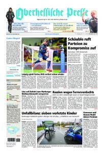 Oberhessische Presse Marburg/Ostkreis - 22. November 2017
