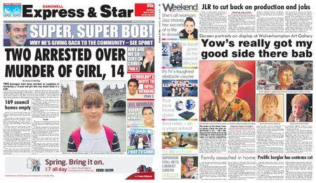 Express and Star Sandwell Edition – April 14, 2018