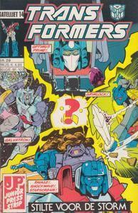 De Transformers - 29 - De Menselijke Factor Blz 36  37 slecht