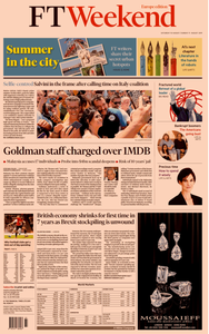 Financial Times Europe – 10 August 2019
