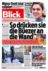Blick – 21. November 2019