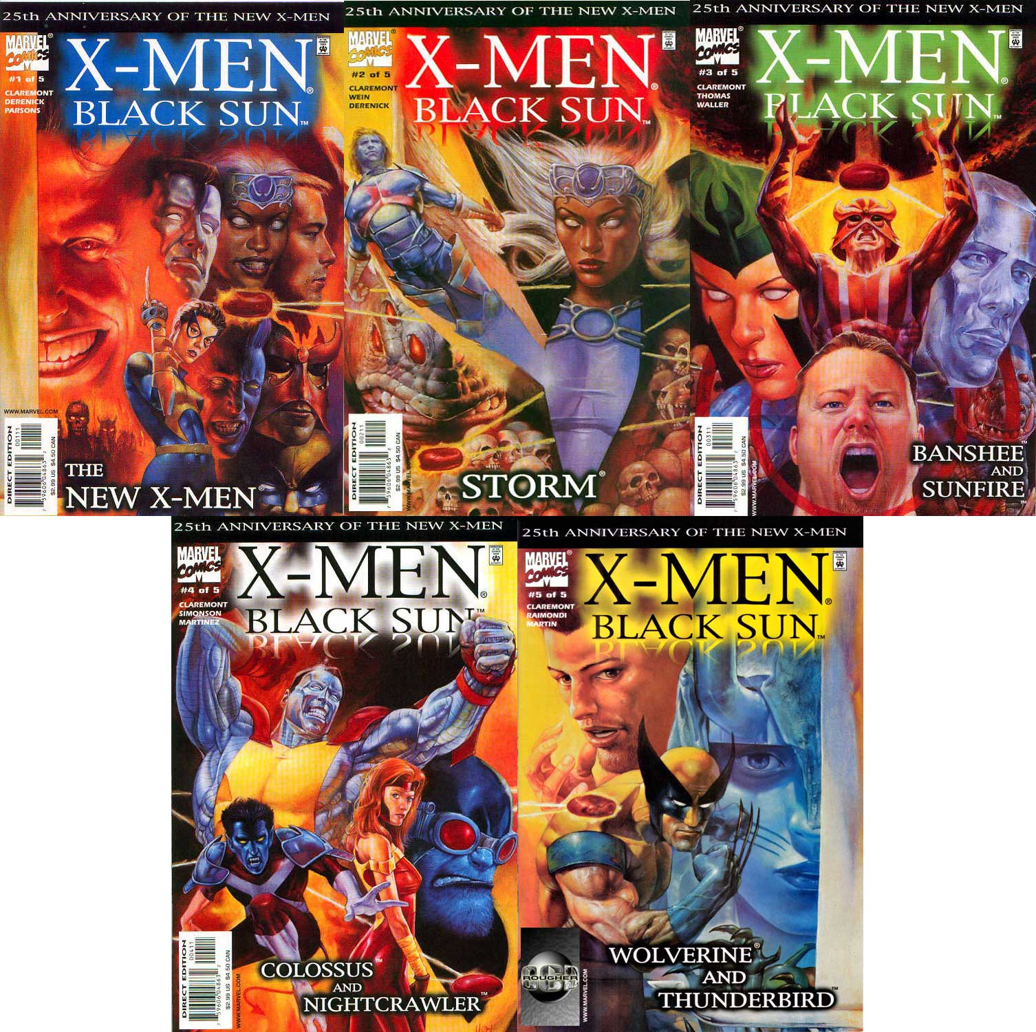 New X-Men: Black Sun - Complete (1 to 5)