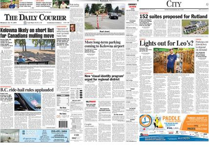 Kelowna Daily Courier – July 17, 2019